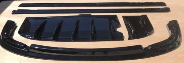 Subaru Impreza Blobeye Body Kit, Splitter, Side Extensions & Diffuser 03-06 STi