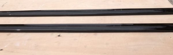 AUDI A5 S-LINE SIDE SKIRT SPLITTERS HIGH GLOSS BLACK (2007-2011)