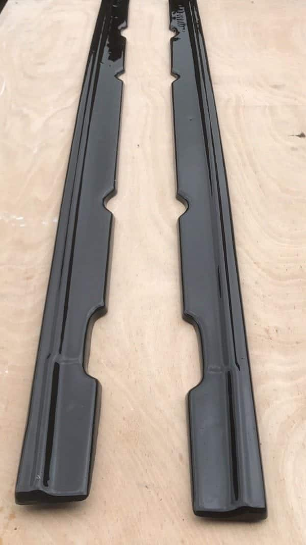 FORD FOCUS St Mk2 PREFACE FRONT SPLITTER and SIDE SKIRT EXTENSIONS (2004-2007)