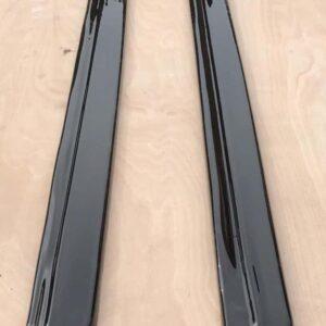 AUDI A5 S-LINE SIDE SKIRT SPLITTERS HIGH GLOSS BLACK (2007-2011)