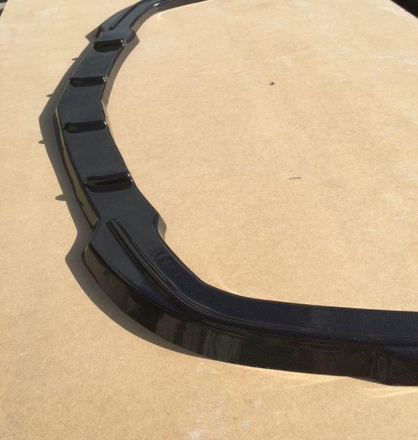 FRONT SPLITTER ASTRA H VXR 05-10 GLOSS BLACK