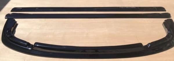 Subaru Impreza Blobeye ABS Body Kit Front Splitter And Side Extensions 03-06 STi
