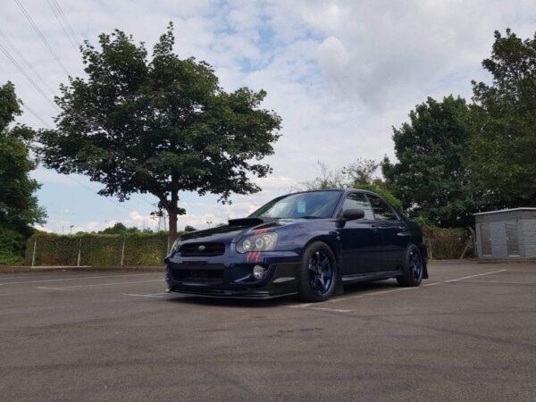 Subaru Impreza ABS Front Splitter Blobeye 03-06 STi WRX