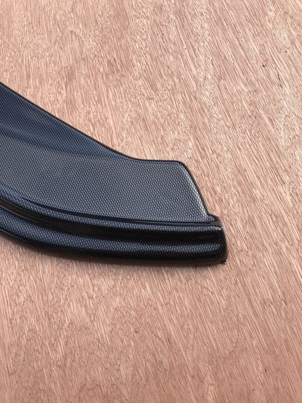 VW Caddy Mk4 Front Splitter (GLOSS BLACK ) Great Fitment (2015 Upwards)