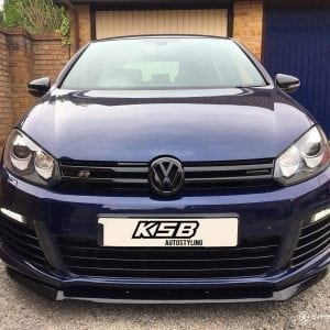 VW GOLF MK6 R SPLITTER