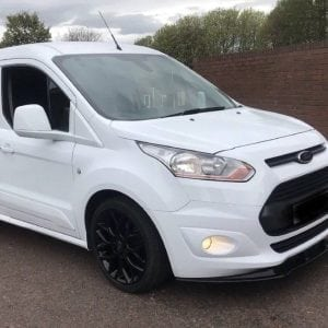 FORD TRANSIT CONNECT SPLITTER