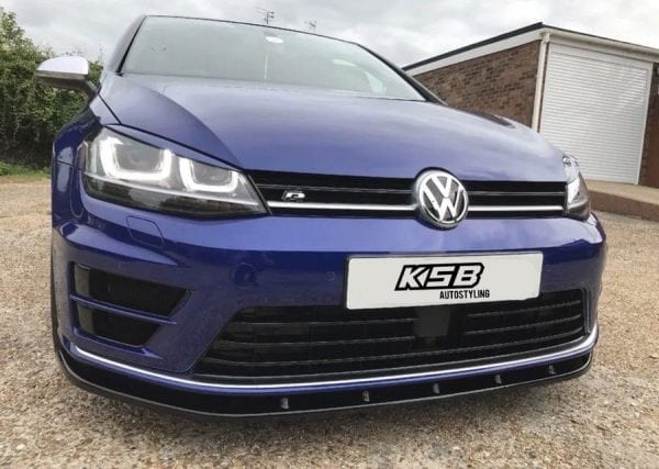 VW GOLF MK7 R SPLITTER