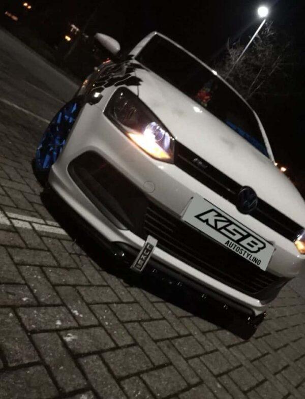 WHITE VW POLO SPLITTER