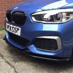 BMW 1 F20 FACELIFT SPLITTER