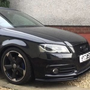 AUDI A3 SPLITTER GLOSS