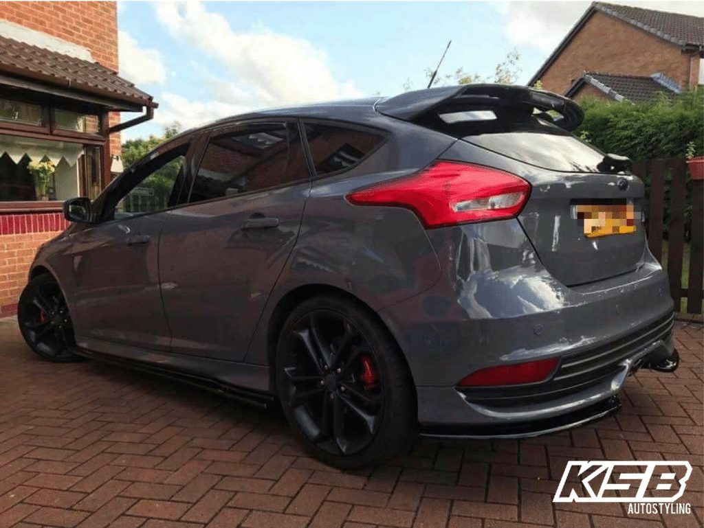 Ford Focus St Mk3 Facelift Side Skirt Ksb Autostyling