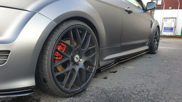 FORD FOCUS RS MK2 SIDE EXTENSIONS & REAR SPLITTERS